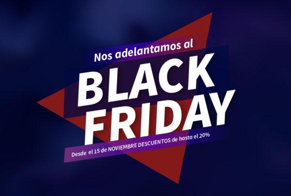 black Friday -Descuento del 20% en tarjetas PVC y sistemas de control de acceso