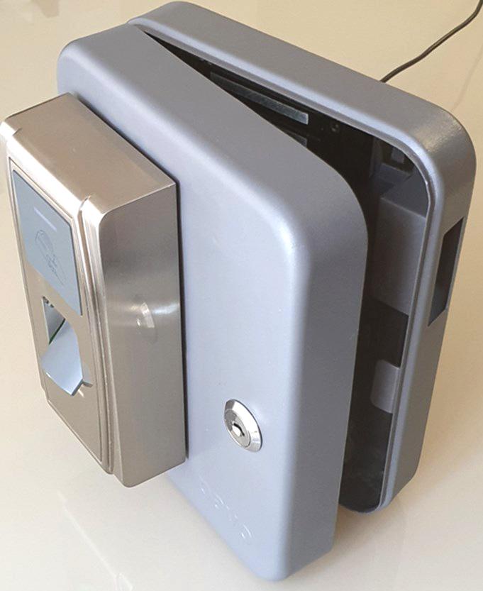 Caja de seguridad en diferentes tamaños