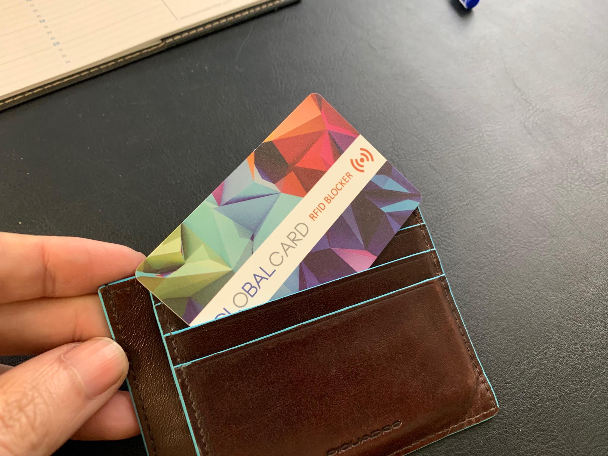 Protección antirrobo para tarjetas de crédito y débito de proximidad contactless RFID