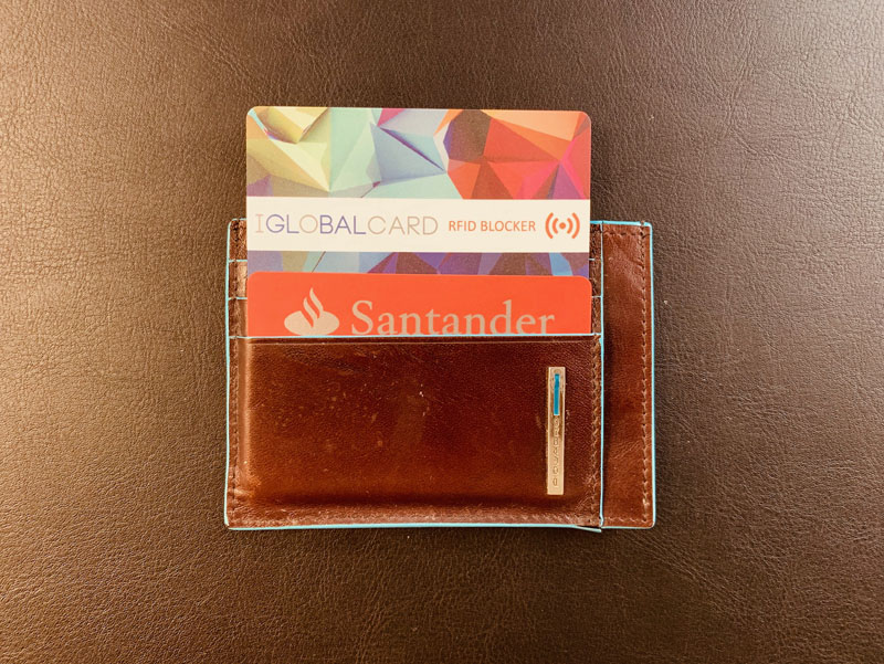 Protege tus tarjetas de crédito contacless con nuestra tarjeta antirrobo.