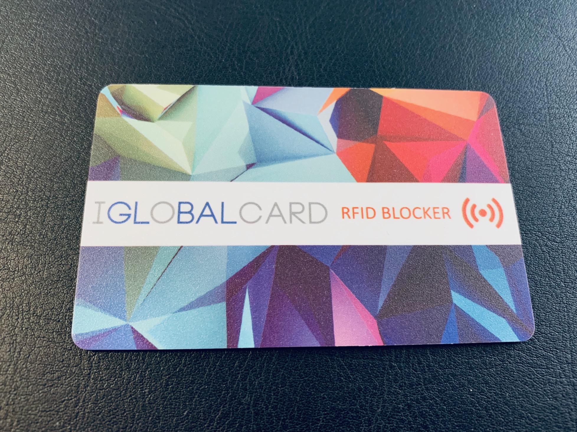 Tarjeta inhibidora antirrobo para tarjetas contacless RFID