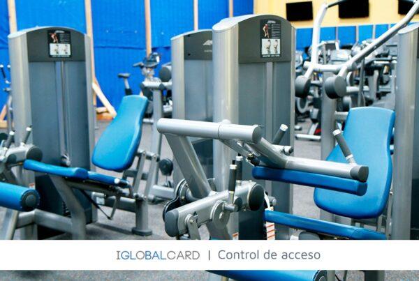 Control de accesos al interior de gimnasios