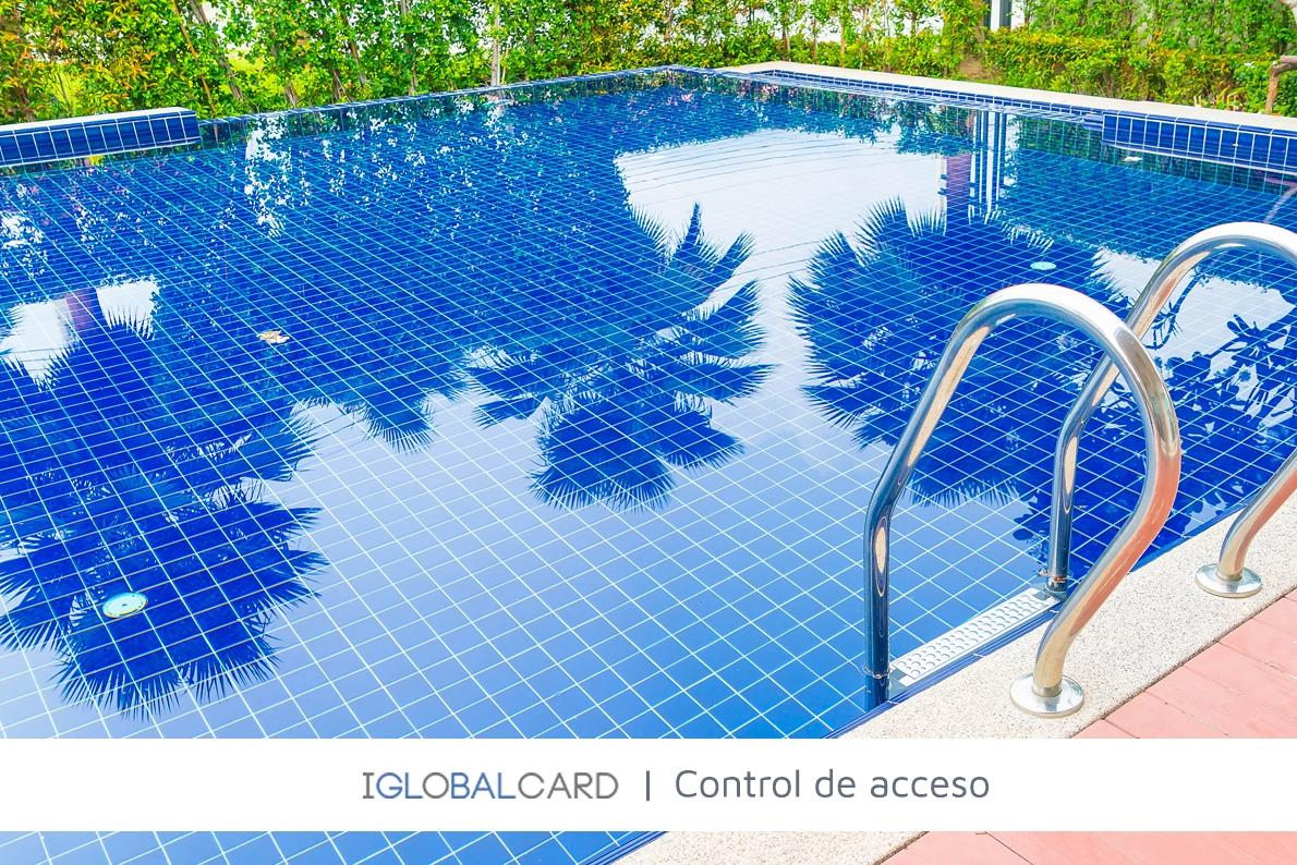 Control de acceso a piscina en urbanización de Oropesa del Mar