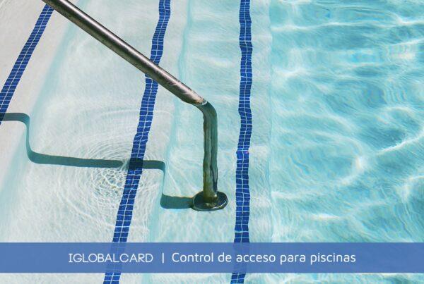 Sistema de control de accesos a piscina