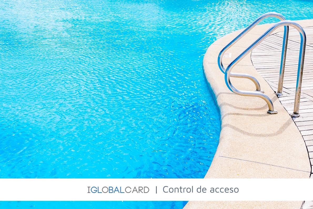 Control de accesos a piscinas y zonas comunes de una urbanización