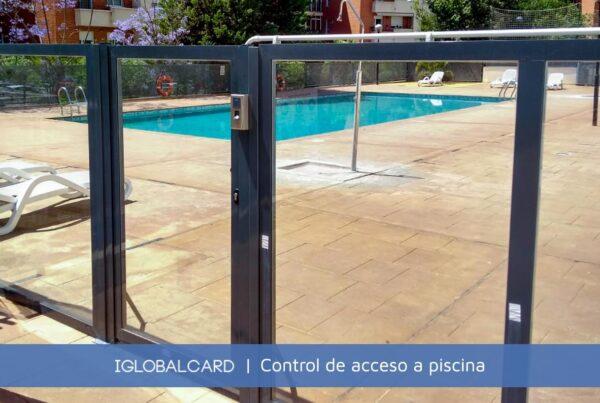 Terminal EM-45 de control de acceso a piscina