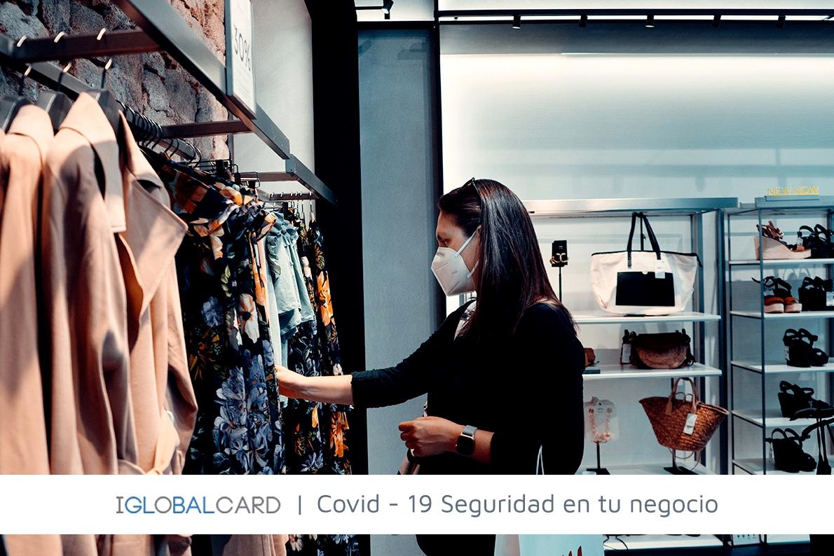 Controles de acceso para garantizar la seguridad contra el COVID-19 en los negocios