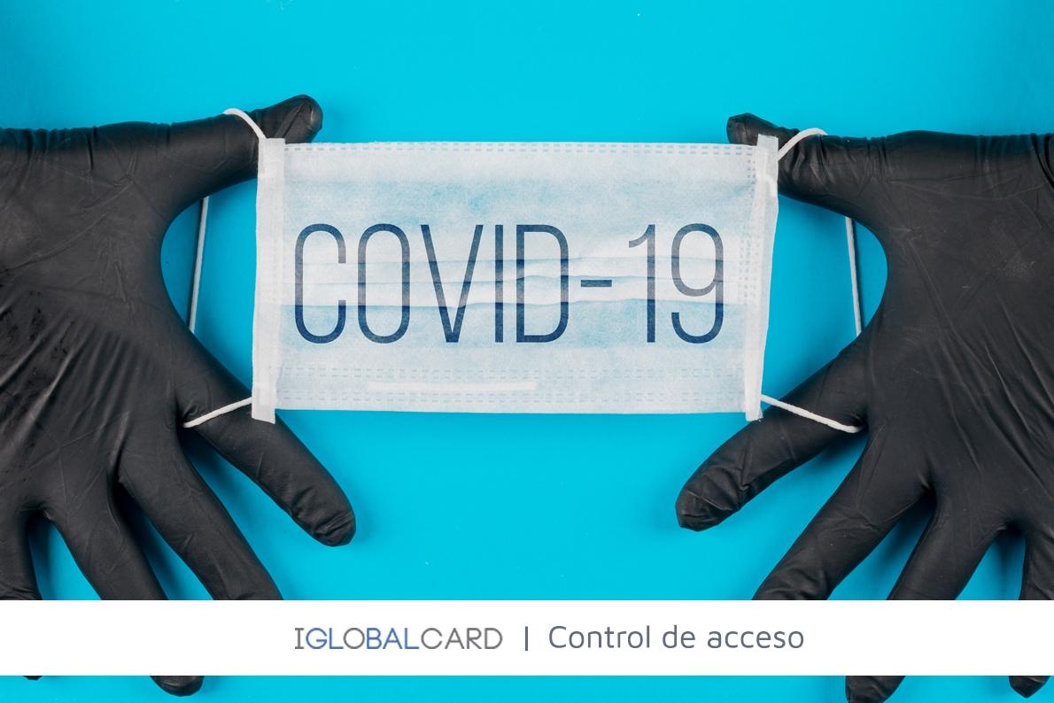 Terminal de control de temperatura contra el cornonavirus