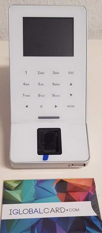 Control de acceso mediante huella digital. Instalación completa con Iglobalcard