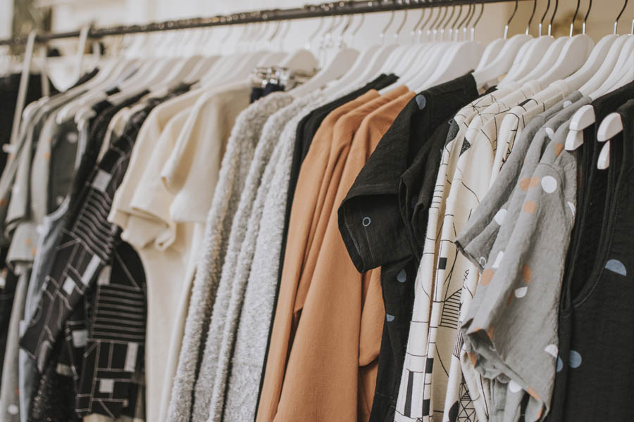 Tarjetas de Fidelización de clientes para cadena de ropa de hombre y mujer