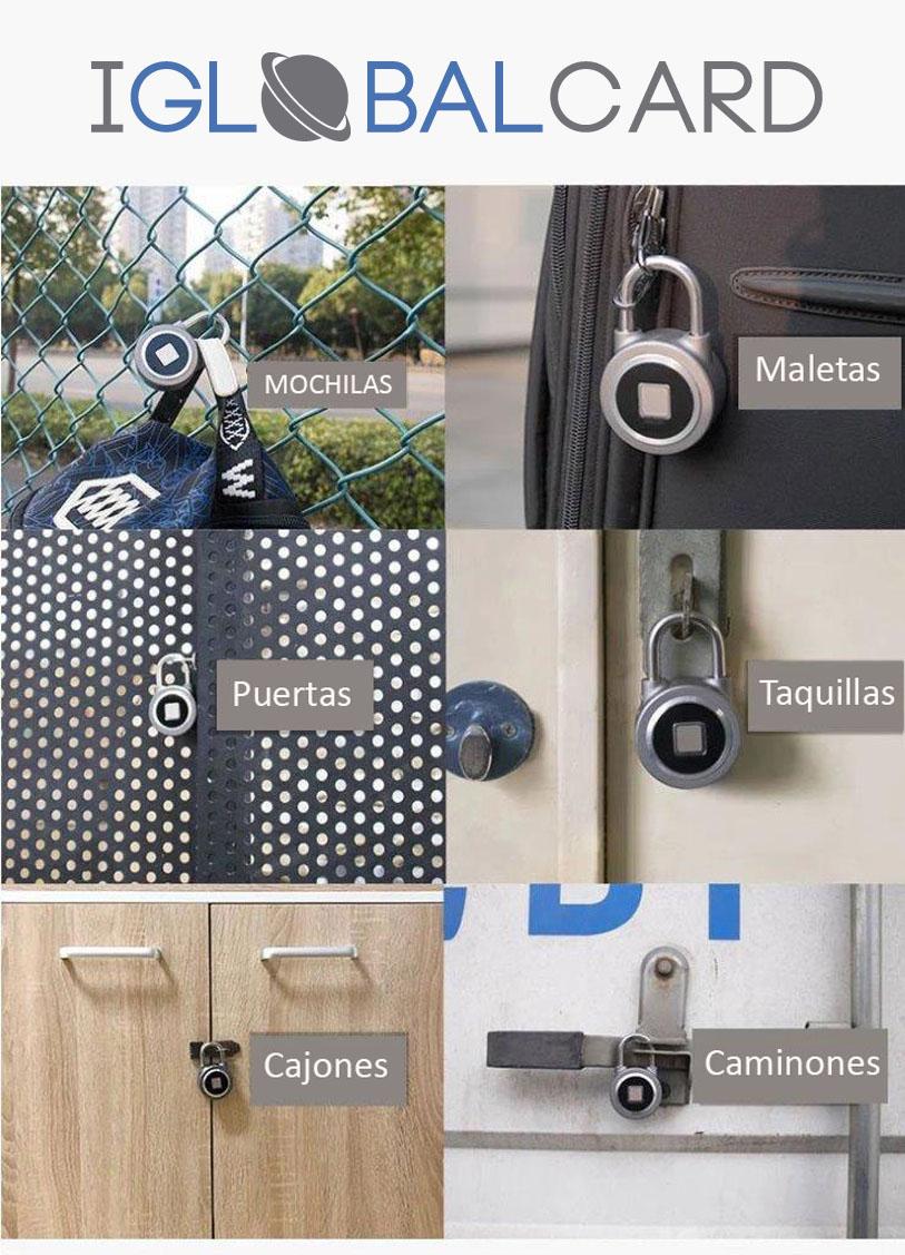 Candados Bluetooth y por huella dactilar. Conoce todos sus utilidades