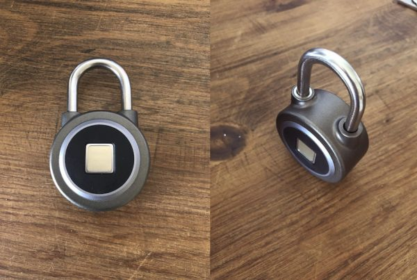 Iglobalock - candado dáctil por huella o smartphone