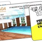 Fábrica de tarjetas plásticas de PVC