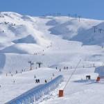 Control de acceso autobus estación de esquí