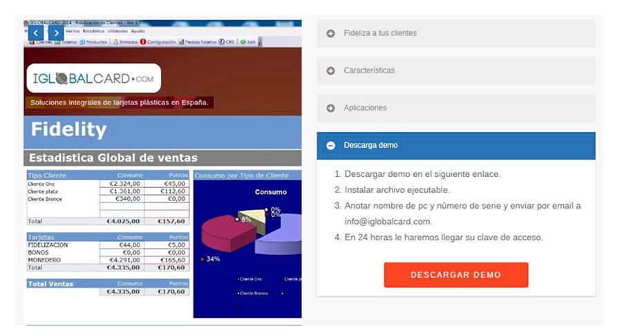 Software de fidelización de clientes para tiendas y negocios.