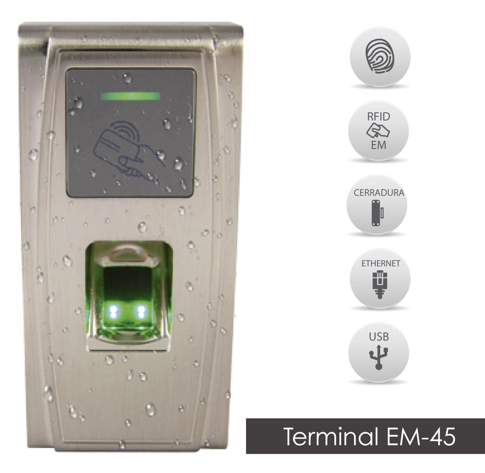 Terminal EM45 - características