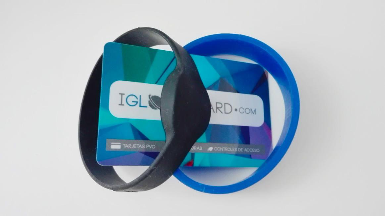 Pulseras RFID de silicona para acceso a piscinas